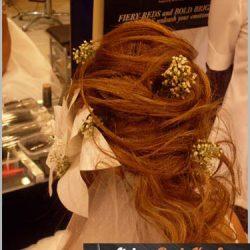 gelin başı saç modelleri 4
