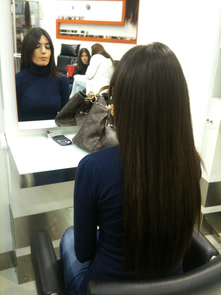 keratin kaynak saç 1