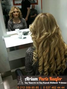 keratin kaynak saç resim 2