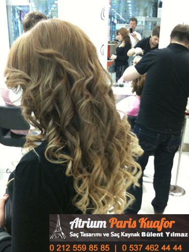 keratin kaynak saç resim 3
