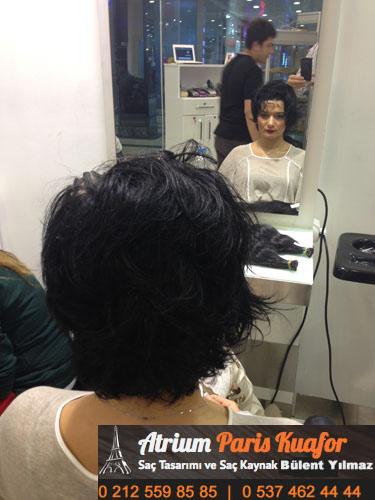 keratin kaynak saç resim 5