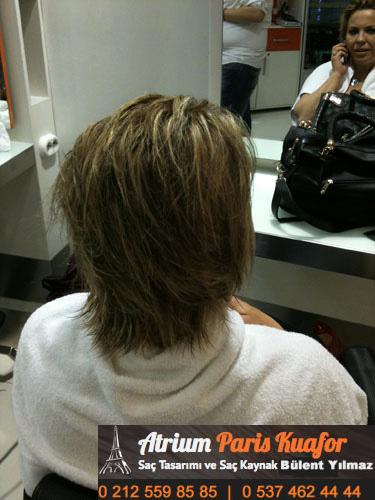 keratin kaynak saç resim 6