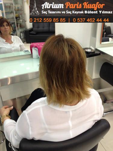 keratin kaynak saç resim 8