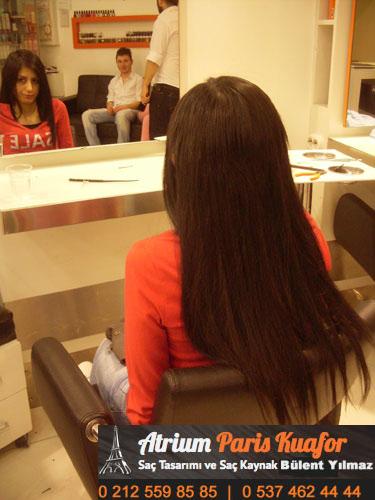 keratin saç kaynağı resim 8