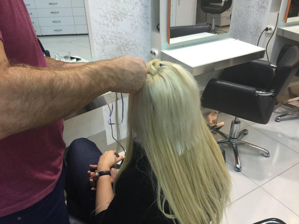 mikro saç kaynak modeli