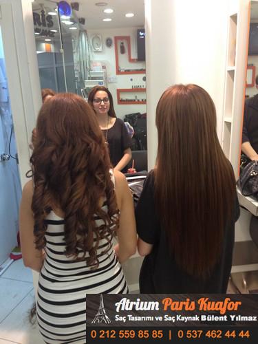 saç kaynağı öncesi ve sonrası 1