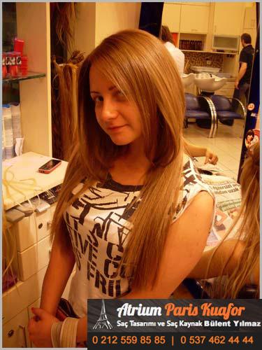 kaynaklı saç bakımı