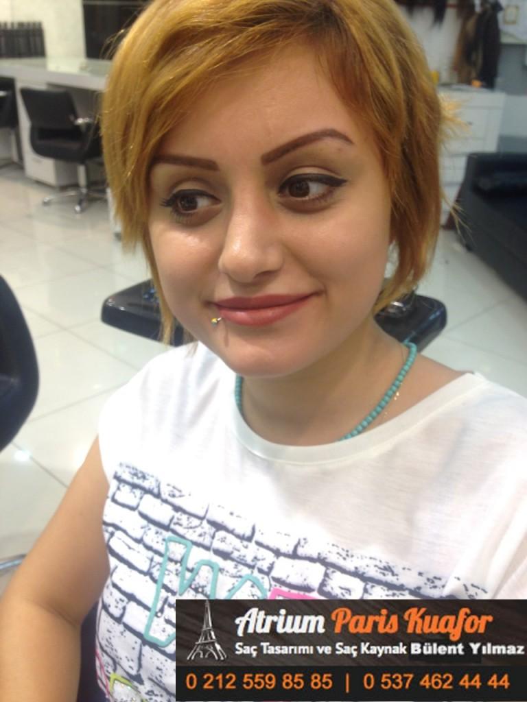 saç kaynak öncesi sonrası