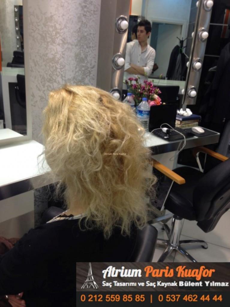 saç kaynak öncesi ve sonrası 304