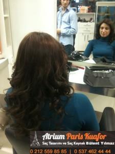 dalgalı saça kaynak uygulaması 2