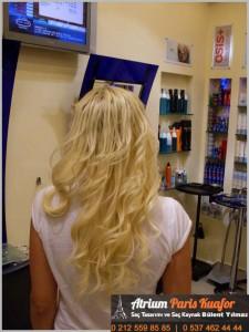Dalgalı Saça Saç Kaynak Uygulaması