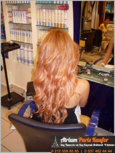 dalgalı saça kaynak uygulaması 5