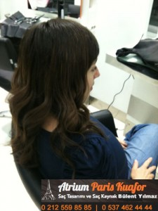 dalgalı saça saç kaynak uygulaması 1