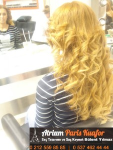 dalgalı saça saç kaynak uygulaması 3