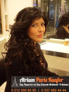 dalgalı saça saç kaynak uygulaması 5