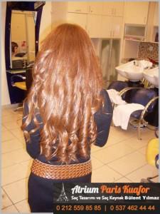 doğal görünümlü kaynak saç 3