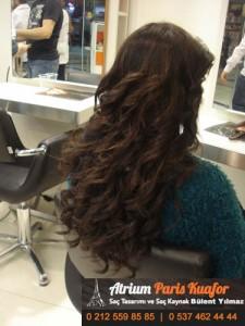 Doğal Görünümlü Kaynak Saç