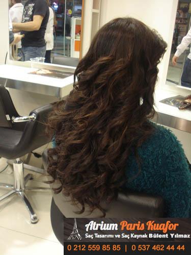 doğal görünümlü kaynak saç 5