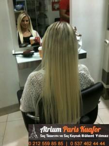 doğal görünümlü saç 1