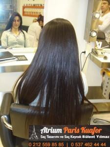 doğal görünümlü saç 5