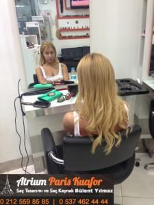 kaynak saç uygulaması 2