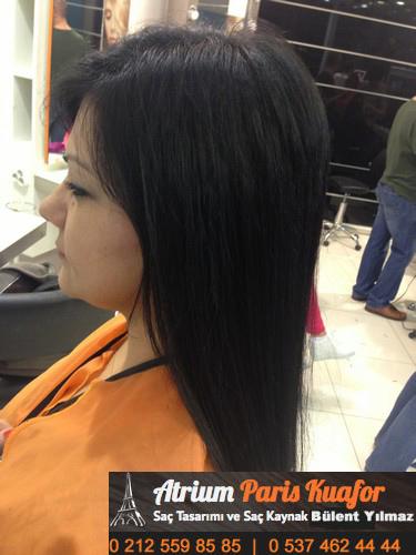 kısa saça kaynak nasıl yapılır 1