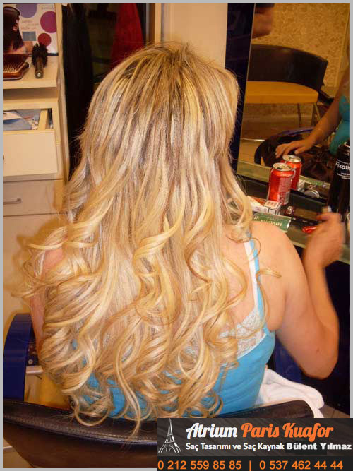 kısa saça kaynak nasıl yapılır 2