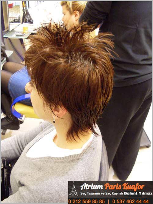 kısa saça kaynak nasıl yapılır 5