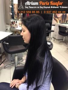 kıvırcık saça kaynak saç uygulaması 3