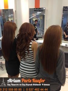 Kıvırcık Saça Saç Kaynak Uygulaması