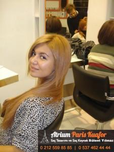 yanmış saça saç kaynak 1