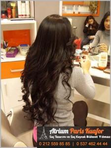 yanmış saça saç kaynak 2