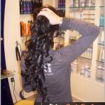 yanmış saça saç kaynak 6