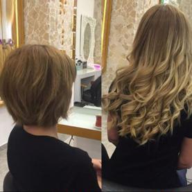 saç kaynak öncesi ve sonrası resimleri