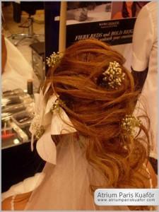 gelin saçı 4