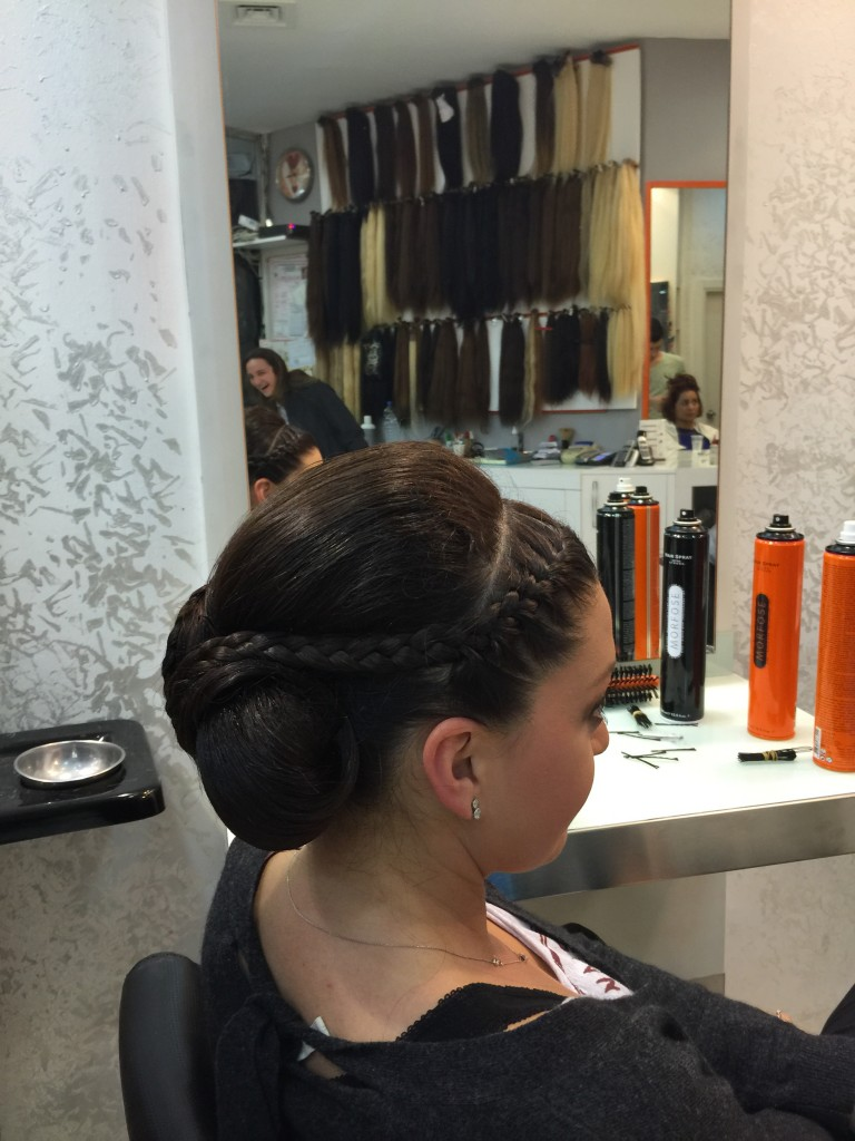 knob hair models