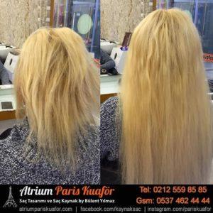 mikro saç kaynağı ile saçları dolgunlaştırma