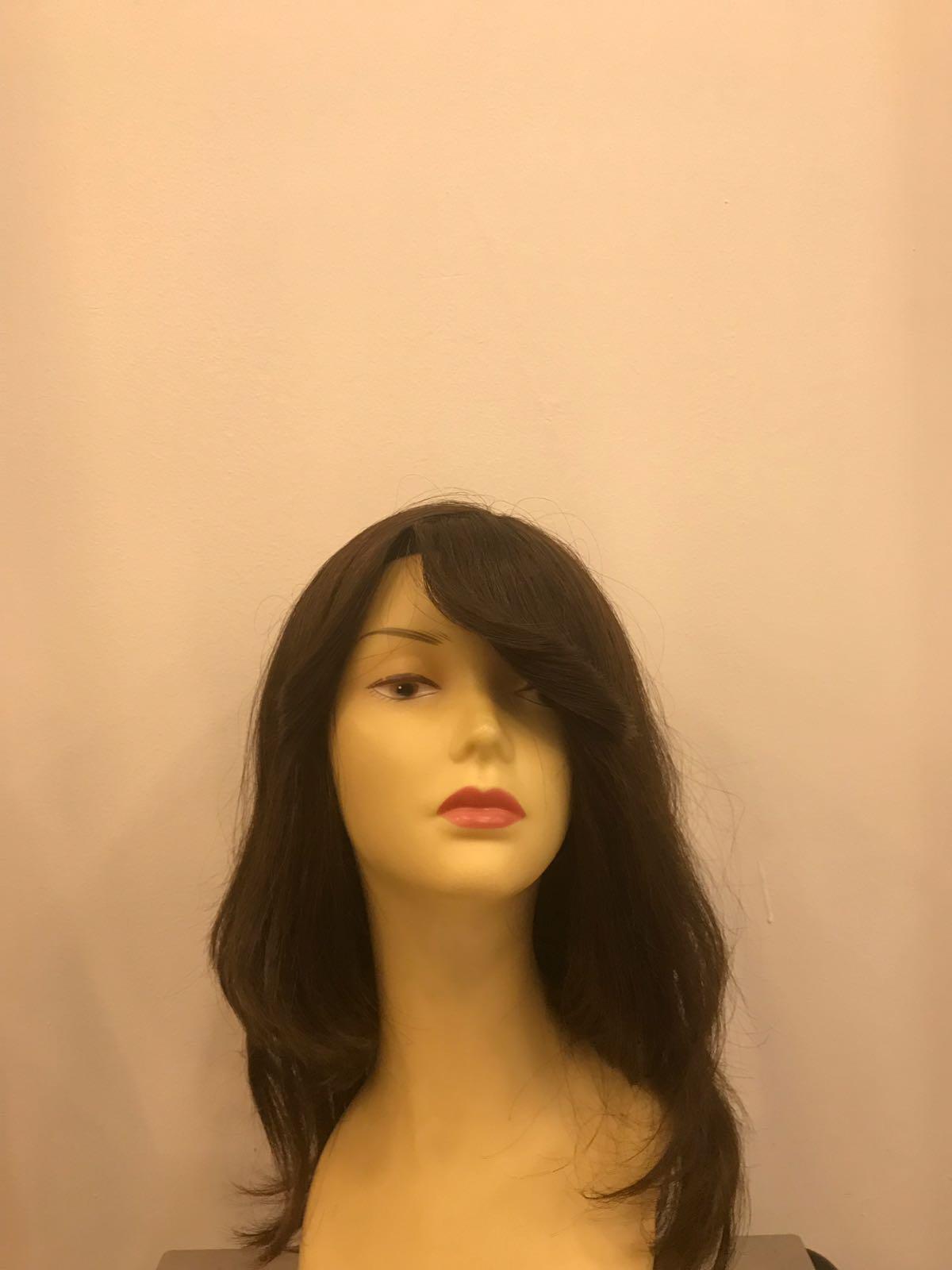 uzun siyah medikal peruk
