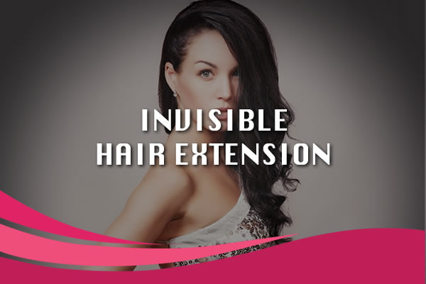 invisible hair extensions